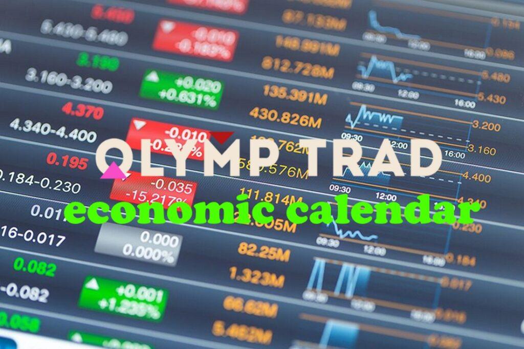 Olymp Trade economic calendar