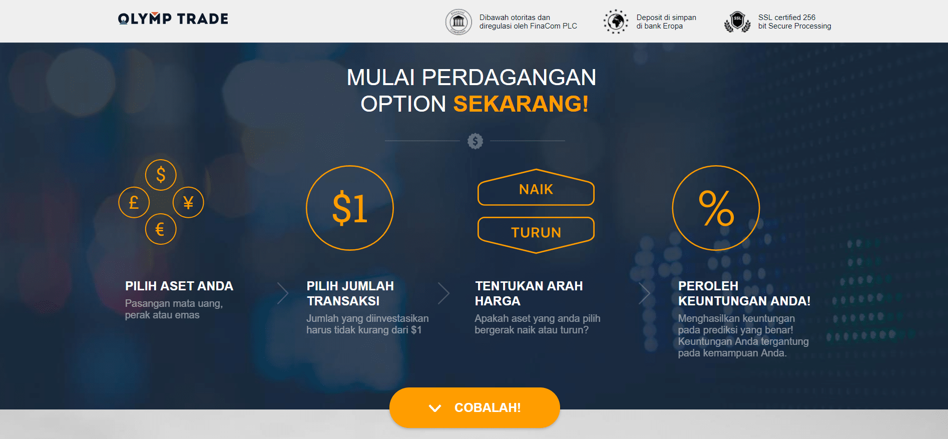 broker perdagangan opsi indonesia