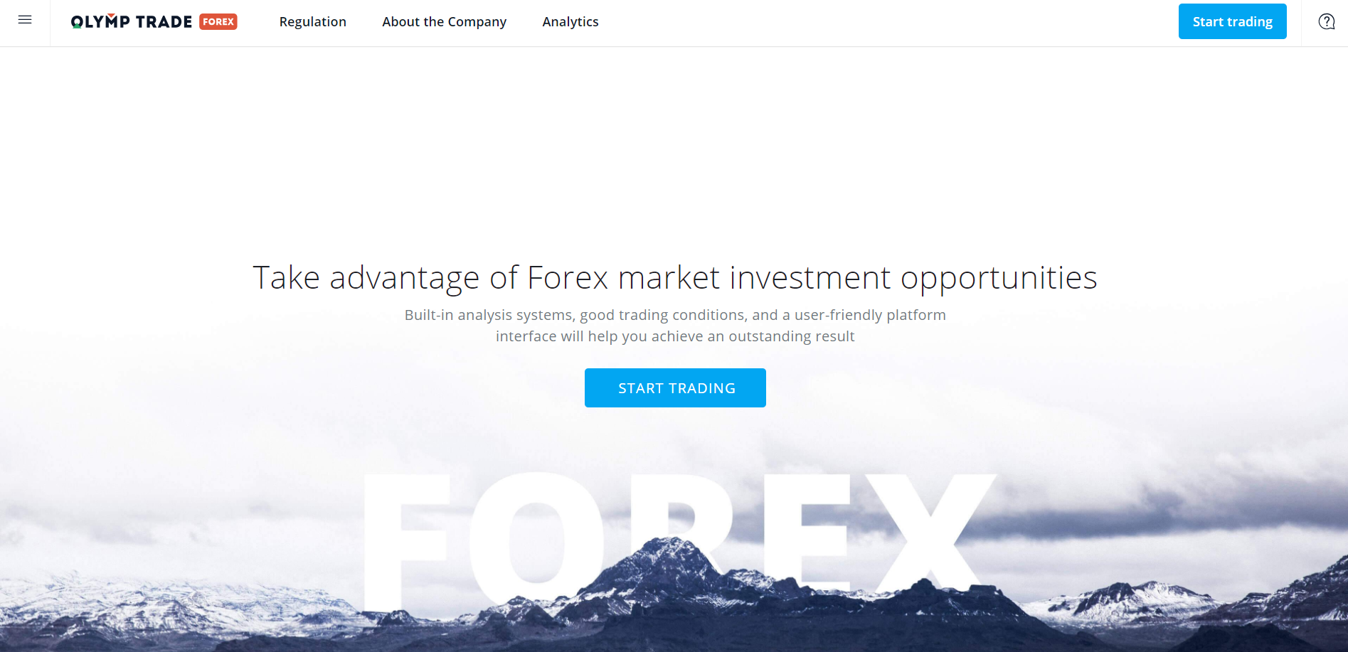olymp trade forex