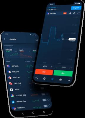 Aplicación móvil Olymp Trade