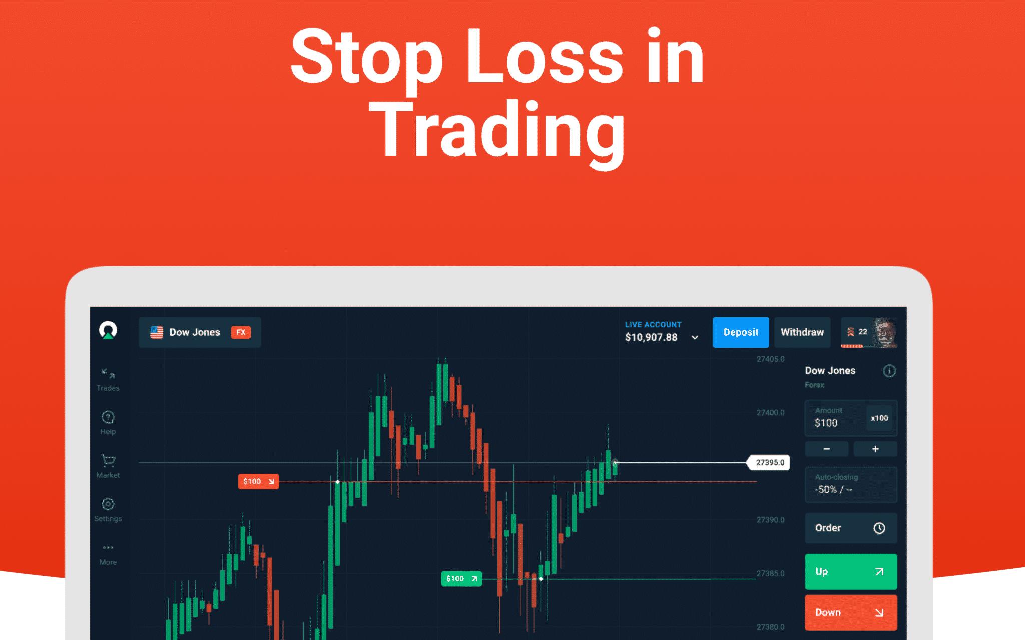 Parar a perda no comércio