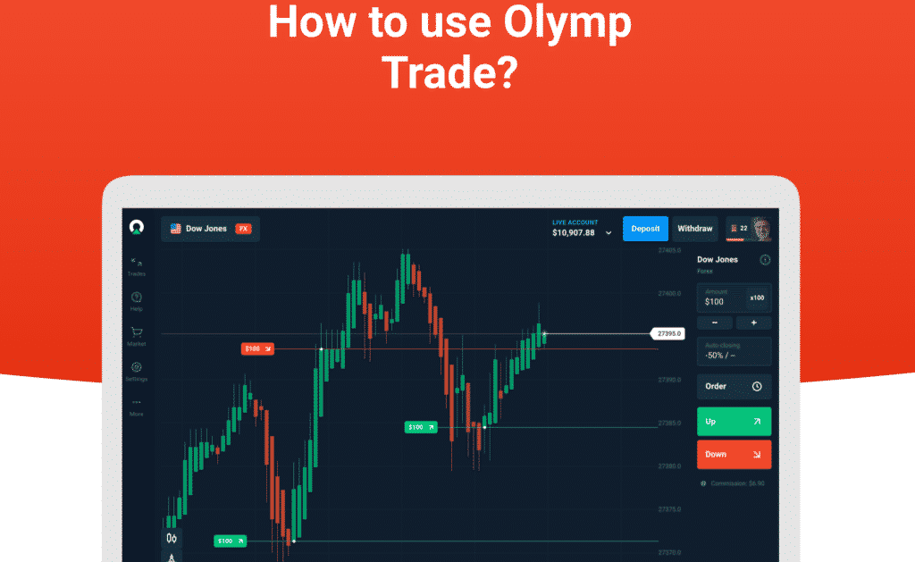 how to use Olymp Trade