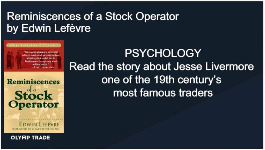 """Reminiscence of a Stock Operator"" oleh Edwin Lefevre"
