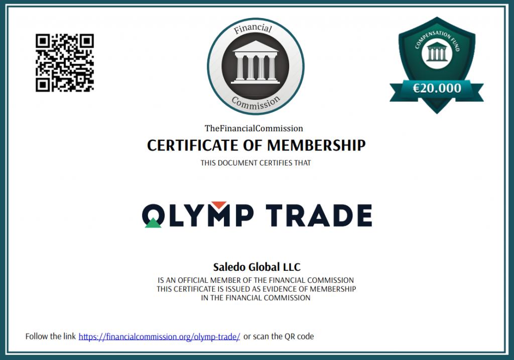Olymp trade regulated